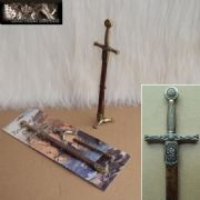 Excalibur Letter Opener With 3 Claw Stand